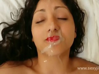 Indian bhabhi blackmailed, used, a., m. and gets massive facial cumshot hindi audio POV Indian
